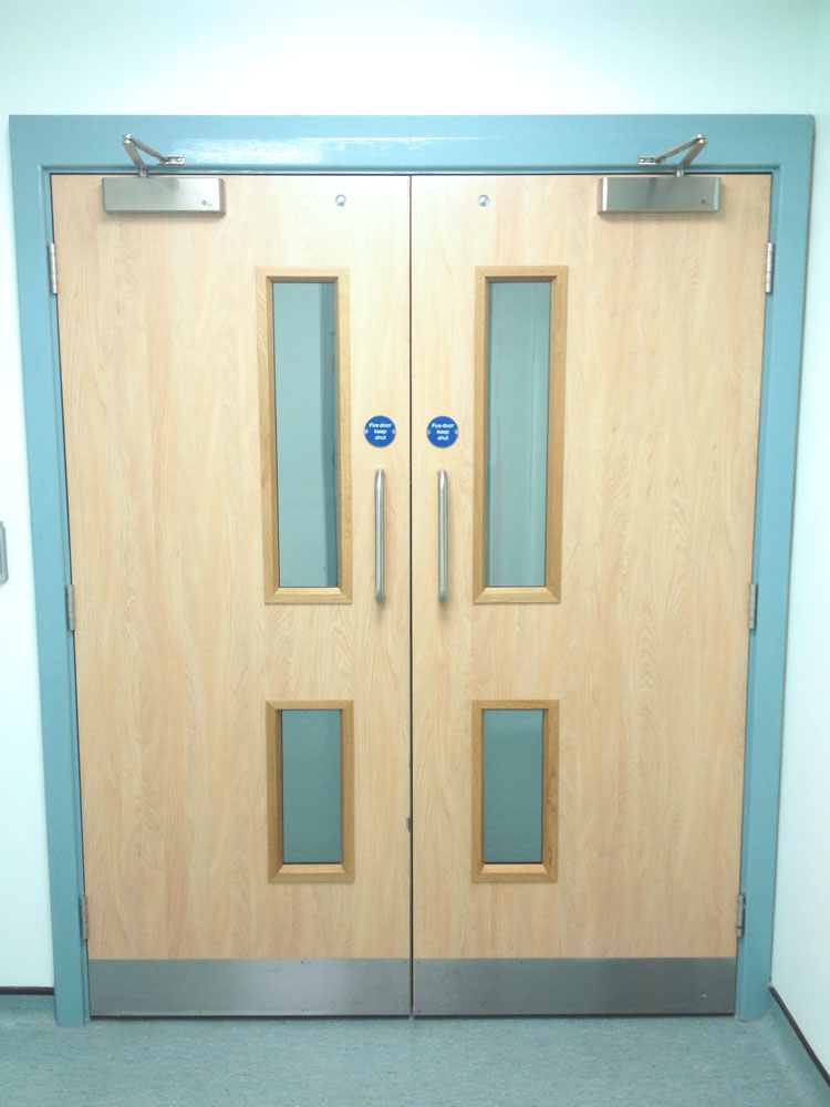 all of our fire doors are tested and proven to the appropriate regulations to provide you with absolute assurance that our doors are fit for purpose